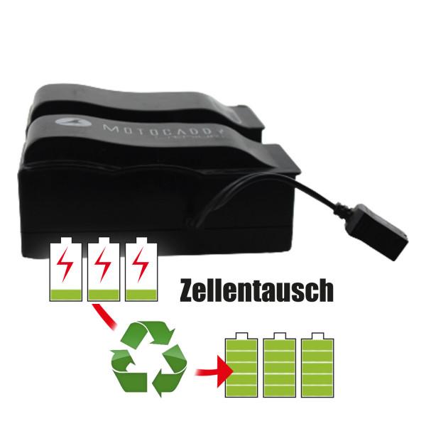 Akkureparatur - Zellentausch kompatibel für Motocaddy E-Trolley 12,8V | 22,4Ah / 286,72Wh