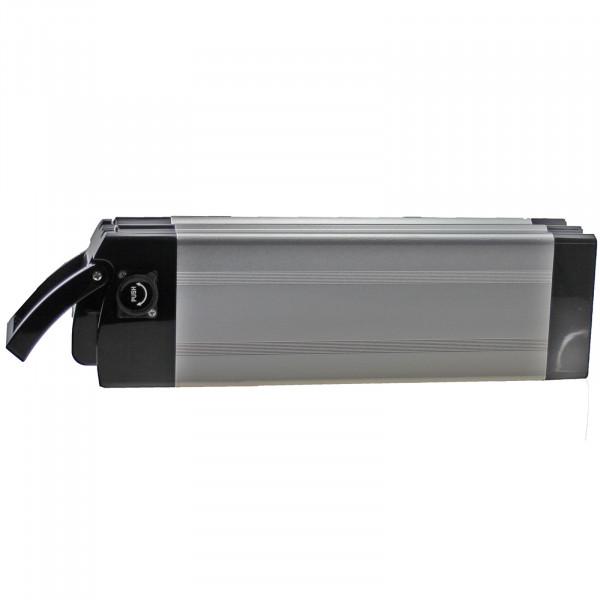 Universal-Ebike-Akku 36V - 10,0Ah - 360Wh - für Daum, Urban, Arrow, AnthroTech, Pfiff / silber
