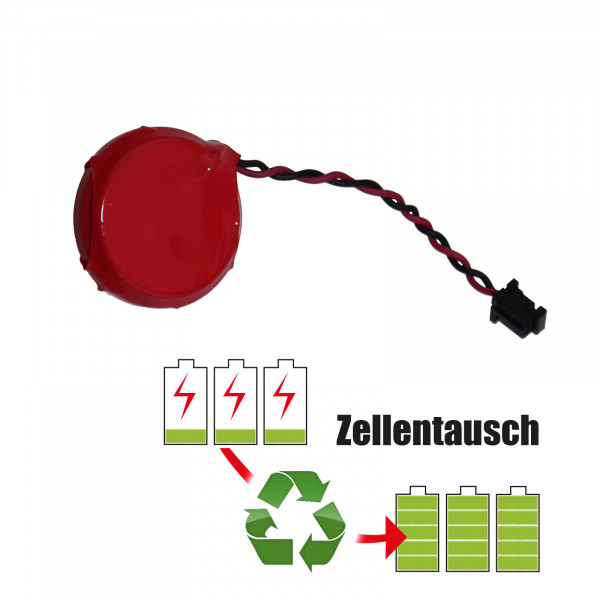 Batteriereparatur - Batterietausch CR2450 Batterie 3,0 Volt Akku