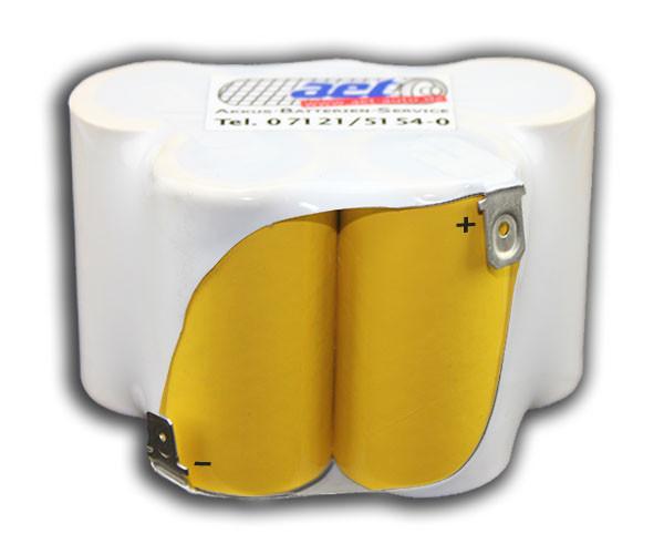 Akku EBL 801 ULO Box 6V 2,0Ah/3,0Ah NiCD/NIMH Batterie bsw. Zündapp, Kreidler