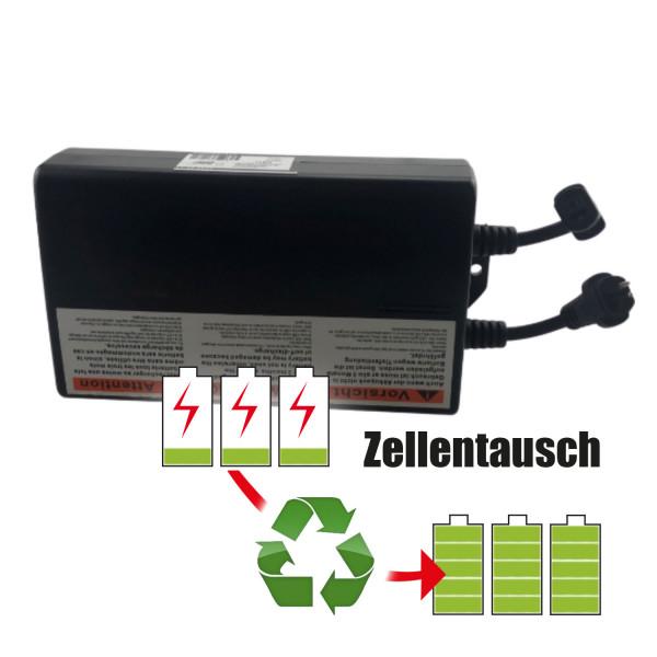Akkureparatur - Zellentausch kompatibel für Limoss Sessel 25,2V | 2,6Ah / 65,52Wh