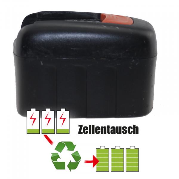 Akkureparatur - Zellentausch kompatibel für Fein Akku 12,0V von 1500mAh bis 3000mAh NICD/NIMH