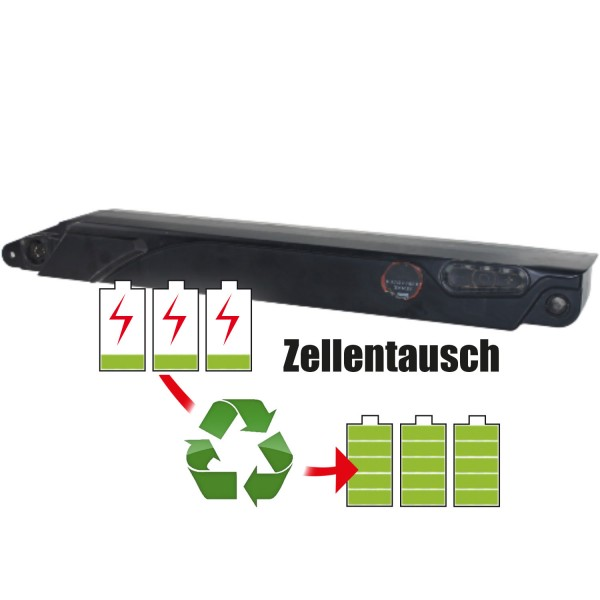 Akkureparatur - Zellentausch kompatibel für Specialized Bicycle Components E-Bike 36,0V   13,8Ah / 496,8Wh
