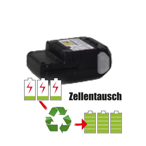 Akkureparatur - Zellentausch kompatibel für Briggs & Stratton Werkzeug 10,8V von 2,6Ah / 28Wh bis 3,0Ah / 32Wh