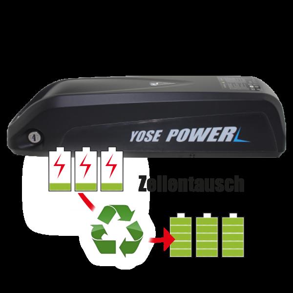 Akkureparatur - Zellentausch kompatibel für PowerSmart - Hailong Ebike 36,0V von 10,2Ah / 367Wh bis 13,8Ah / 497Wh