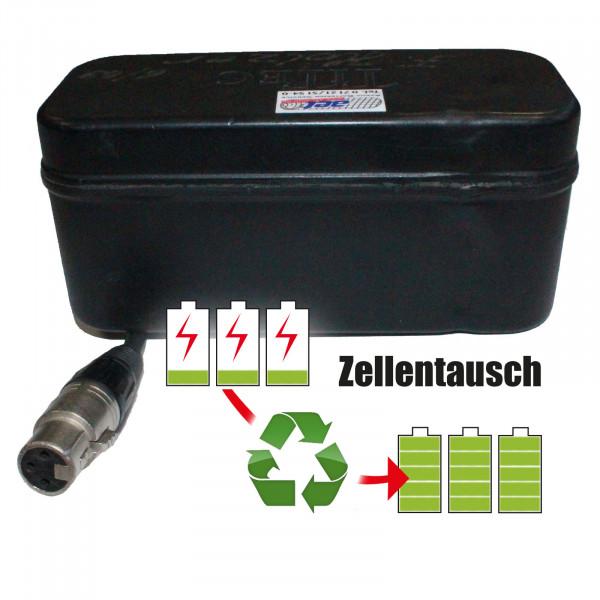 Akkureparatur - Zellentausch kompatibel für Titec Golf-Trolley 14,4V von 15,6Ah / 225Wh bis 20,7Ah / 298Wh
