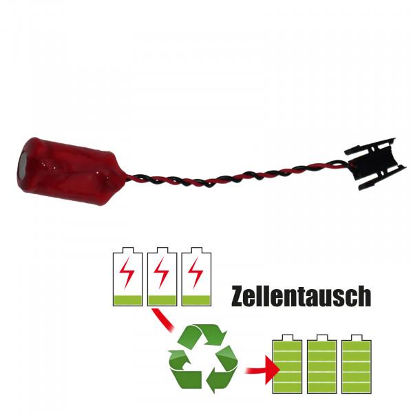 Batteriereparatur - Batterietausch 14250 Saft Batterie 3,6 Volt Akku / 1,2Ah