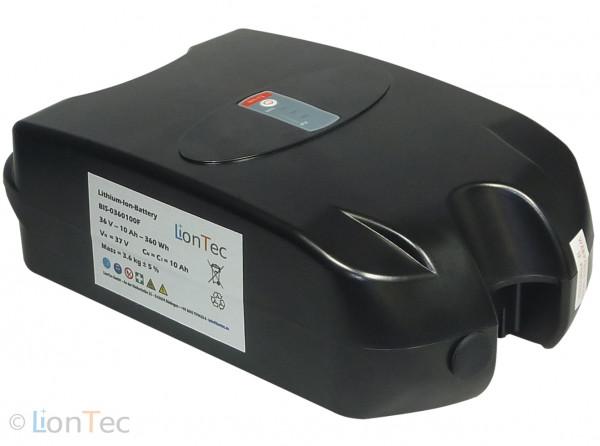Fahrradbatterie 36 V (37 V) - 10 Ah Frog-Type