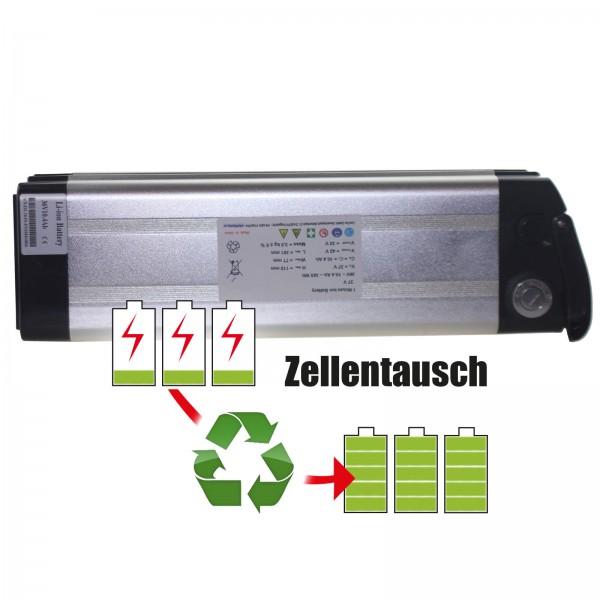Akkureparatur - Zellentausch kompatibel für Advanced Electronic E-Bike 36,0V von 11,6Ah / 418Wh bis 17,3Ah / 621Wh