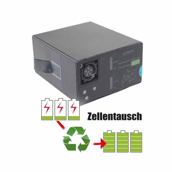 Akkureparatur - Zellentausch kompatibel für Ultralife Geräte 30,0V von 7,7Ah / 230Wh bis 10,4Ah / 311Wh