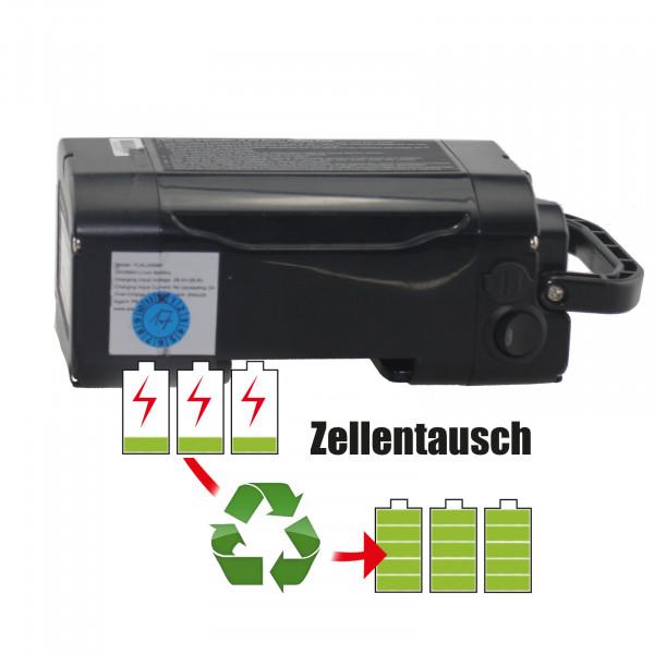Akkureparatur - Zellentausch kompatibel für Yiklik E-Bike 36,0V von 10,4Ah / 374Wh bis 13,8Ah / 497Wh