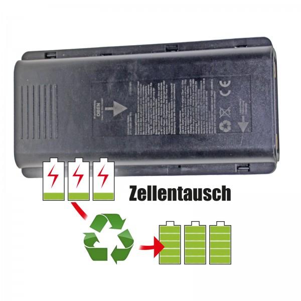 Akkureparatur - Zellentausch kompatibel für Kalkhoff Groove E-Bike Akku 37V von 7,8Ah/289Wh bis 10,35Ah/383Wh