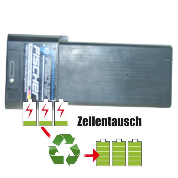 Akkureparatur - Zellentausch kompatibel für Fischer(BMZ) E-Bike 36,0V von 10,2Ah / 367Wh bis 13,8Ah / 497Wh