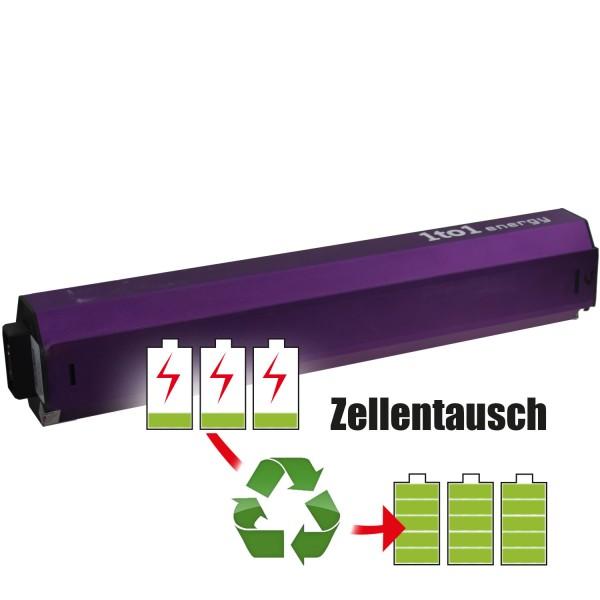 Akkureparatur - Zellentausch kompatibel für Stromer E-Bike Akku 36,0V von 13,0Ah/468Wh bis 17,25Ah/621Wh