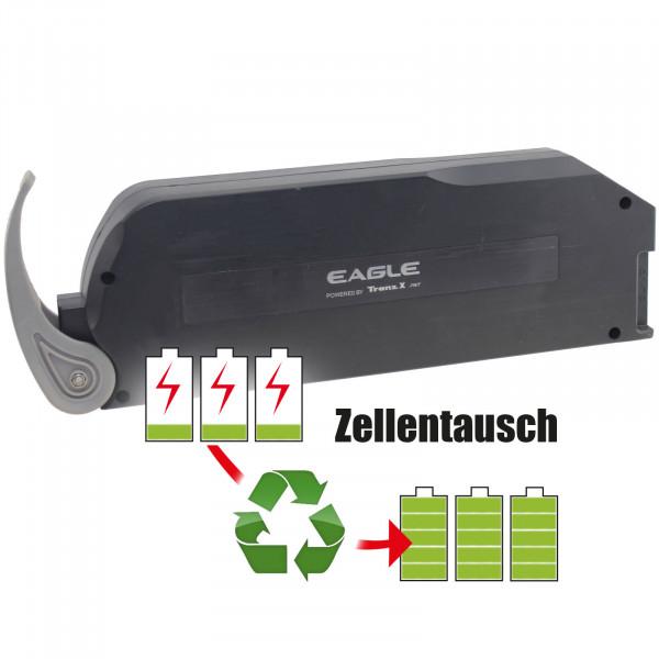 Akkureparatur - Zellentausch kompatibel für TranzX E-Bike 36,0V von 15,6Ah / 562Wh bis 20,7Ah / 745Wh