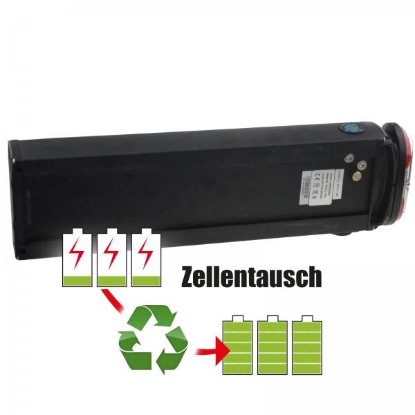 Akkureparatur - Zellentausch kompatibel für Universal E-Bike 36,0V von 8,7Ah / 313Wh bis 13,8Ah / 497Wh