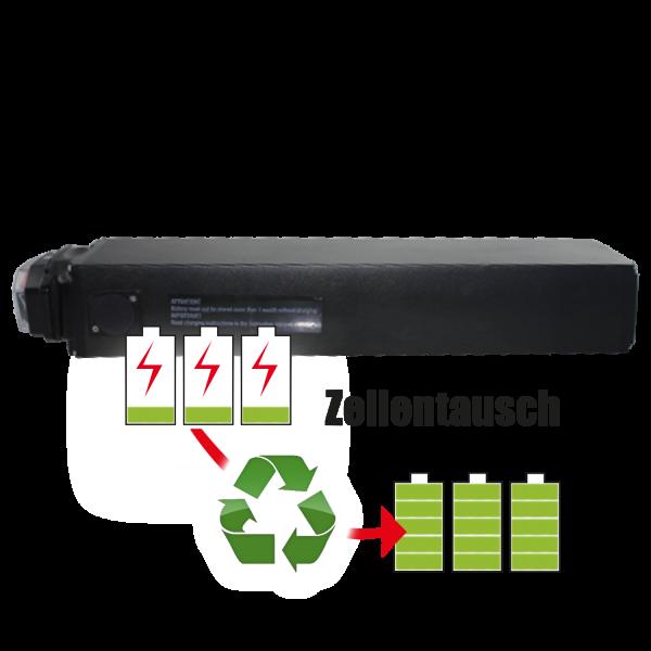 Akkureparatur - Zellentausch kompatibel für Nihola 4.0 E-Bike 36,0V von 13,0Ah / 468Wh bis 17,3Ah / 621Wh