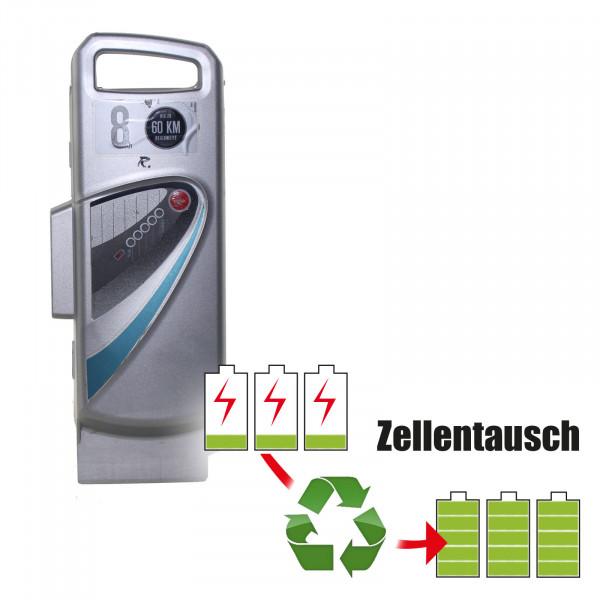 Akkureparatur - Zellentausch kompatibel für Panasonic E-Bike 26,0V von 10,4Ah / 270Wh bis 13,8Ah / 359Wh