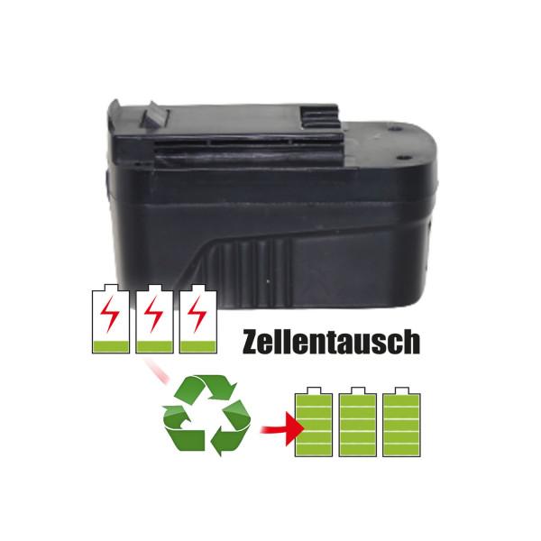 Akkureparatur - Zellentausch kompatibel für East Geräte 18,0V von 2,6Ah / 46Wh bis 3,0Ah / 54Wh