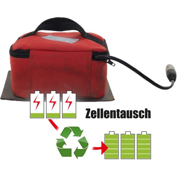 Akkureparatur - Zellentausch kompatibel für BMZ Golftrolley 14,4V   30,6Ah / 440,64Wh