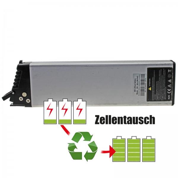 Akkureparatur - Zellentausch kompatibel für Samsung activelo E-Bike Akku 36V von 8,7Ah/314Wh bis 10,35Ah/373Wh