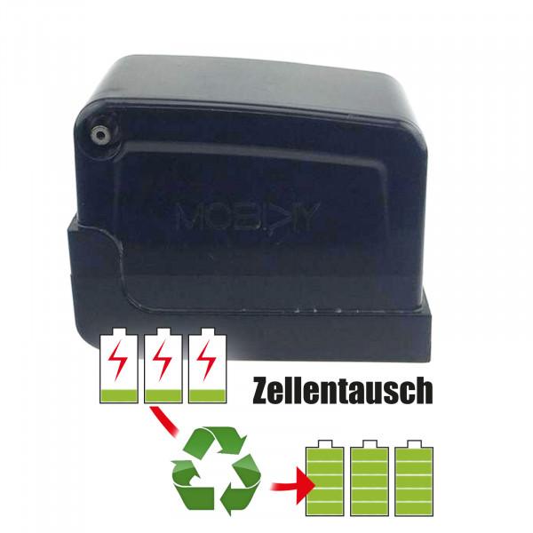 Akkureparatur - Zellentausch kompatibel für Mobiky Golf-Caddy 24,0V von 7,8Ah / 187Wh bis 10,4Ah / 248Wh