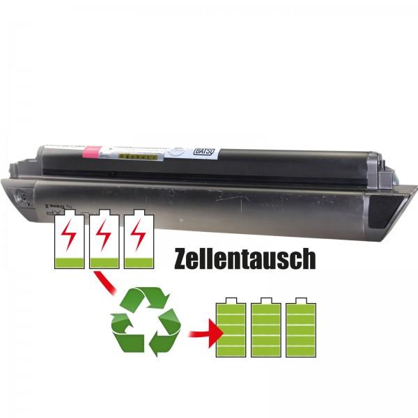 Akkureparatur - Zellentausch kompatibel für TranzX Mionic XP E-Bike Akku 36V von 10,4Ah/374Wh bis 13,8Ah/497Wh
