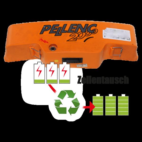 Akkureparatur - Zellentausch kompatibel für Pellenc Astschere 26,4V | 3,0Ah / 79,2Wh