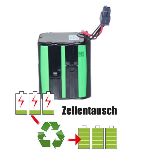 Akkureparatur - Zellentausch kompatibel für Vorwerk Geräte 14,4V von 5,1Ah / 73Wh bis 6,9Ah / 99Wh