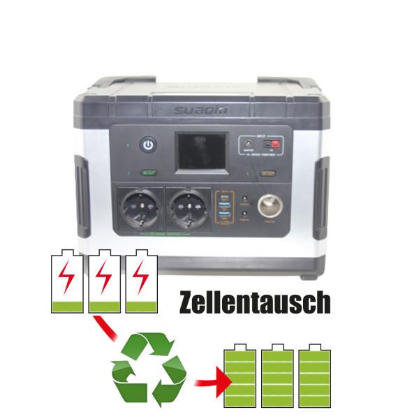 Akkureparatur - Zellentausch kompatibel für Suaoki Powerstation 10,8V von 57,0Ah / 616Wh bis 69,0Ah / 745Wh