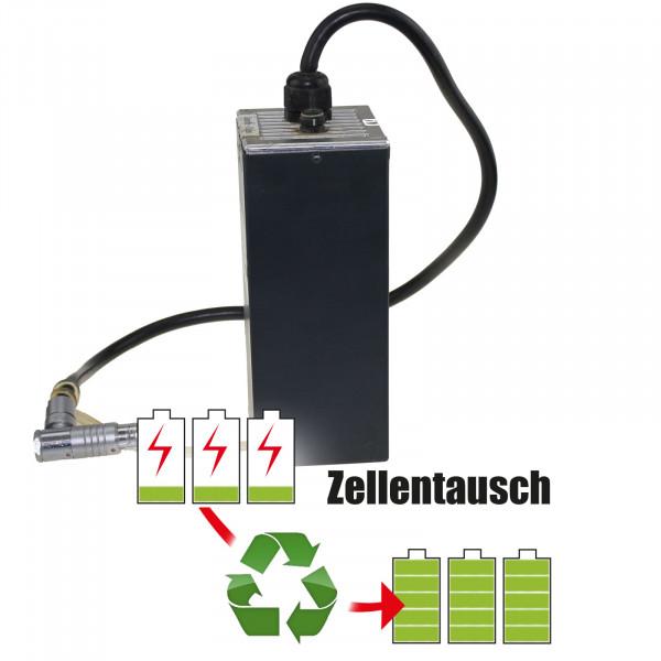 Akkureparatur - Zellentausch kompatibel für Jutec / Jucad Golf Trolley 25,2V von 10,4Ah / 262Wh bis 13,8Ah / 348Wh (mit BMS)