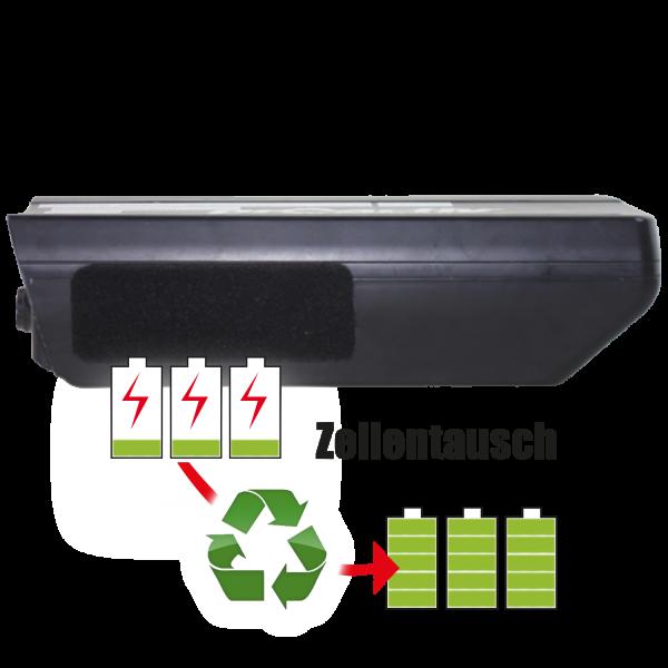 Akkureparatur - Zellentausch kompatibel für BMZ E-Bike 36,0V von 12,8Ah / 459Wh bis 17,3Ah / 621Wh