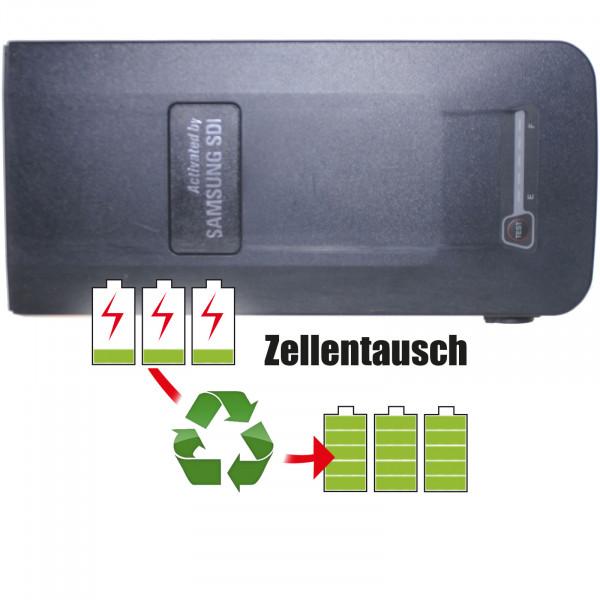 Akkureparatur - Zellentausch kompatibel für Samsung SDI Ebike 36,0V von 11,6Ah / 418Wh bis 13,8Ah / 497Wh