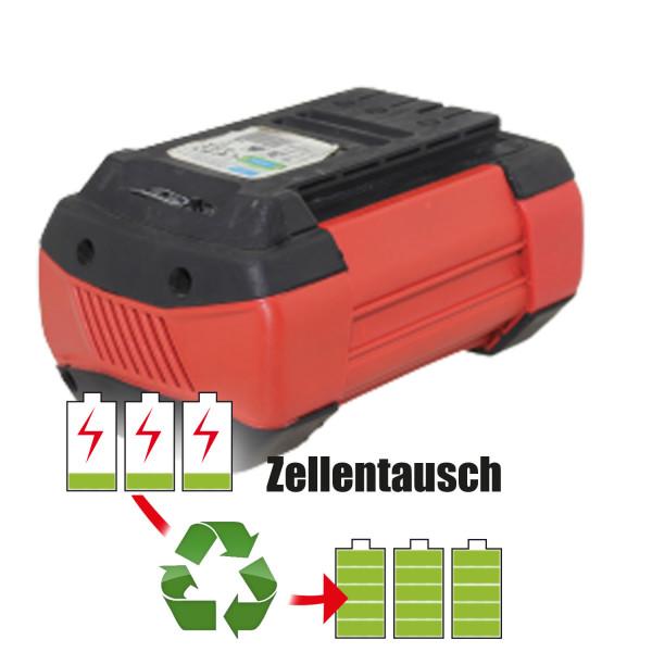Akkureparatur - Zellentausch kompatibel für Güde Geräte 36,0V von 5,1Ah / 184Wh bis 6,0Ah / 216Wh