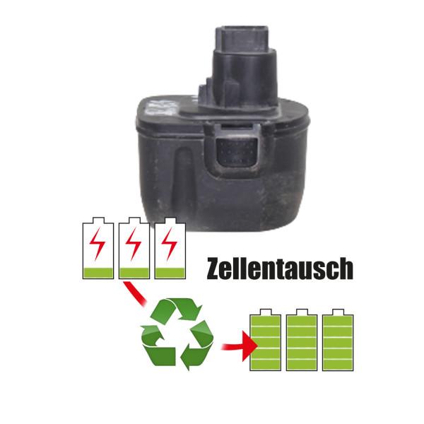 Akkureparatur - Zellentausch kompatibel für Rems Geräte 14,4V von 5,1Ah / 73Wh bis 6,0Ah / 86Wh