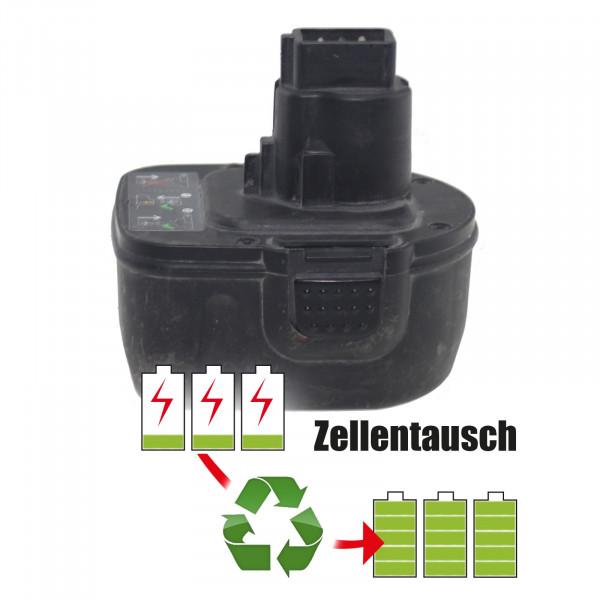 Akkureparatur - Zellentausch kompatibel für Rems Akku 14,4V von 2,15Ah bis 3,45Ah