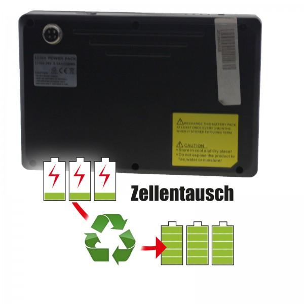 Akkureparatur - Zellentausch kompatibel für Active Ansmann E-Bike 36,0V von 8,7Ah / 313Wh bis 10,4Ah / 373Wh