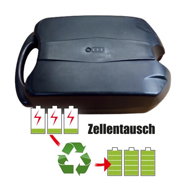 Akkureparatur - Zellentausch kompatibel für Frog-Type Ebike 24,0V von 13,8Ah / 331Wh bis 20,7Ah / 497Wh