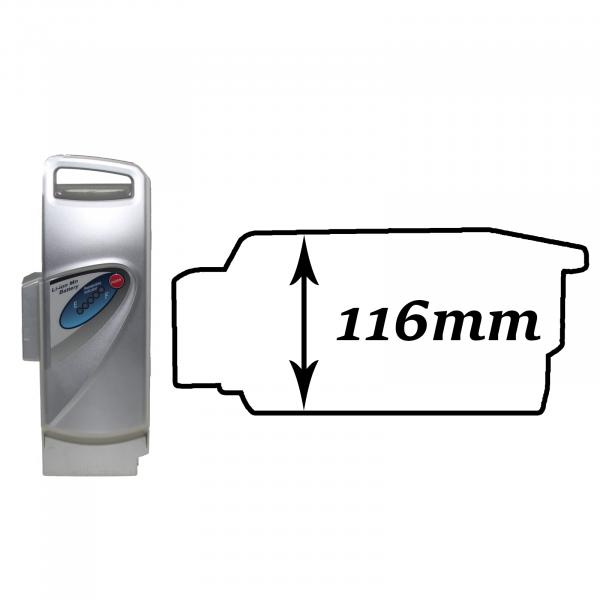 Akkureparatur - Zellentausch kompatibel für Panasonic E-Bike Akku 36V von 10,2Ah/367Wh bis 20,7Ah/746Wh