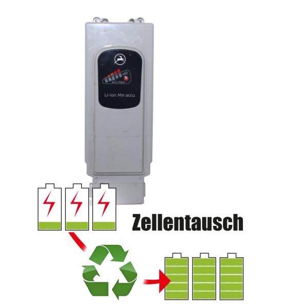 Akkureparatur - Zellentausch kompatibel für Panasonic Ebike 26,0V von 11,6Ah / 302Wh bis 17,3Ah / 449Wh