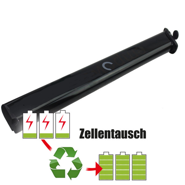 Akkureparatur - Zellentausch kompatibel für EM Powerpack E-Bike 19,2V | 8,5Ah / 163,2Wh