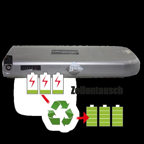 Akkureparatur - Zellentausch kompatibel für Telefunken / Hi-Energy - Phylion Battery Ebike 37,0V von 14,5Ah / 537Wh bis 20,7Ah / 766Wh