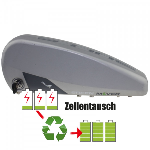 Akkureparatur - Zellentausch kompatibel für BMZ E-Bike 36,0V | 17,3Ah / 621Wh