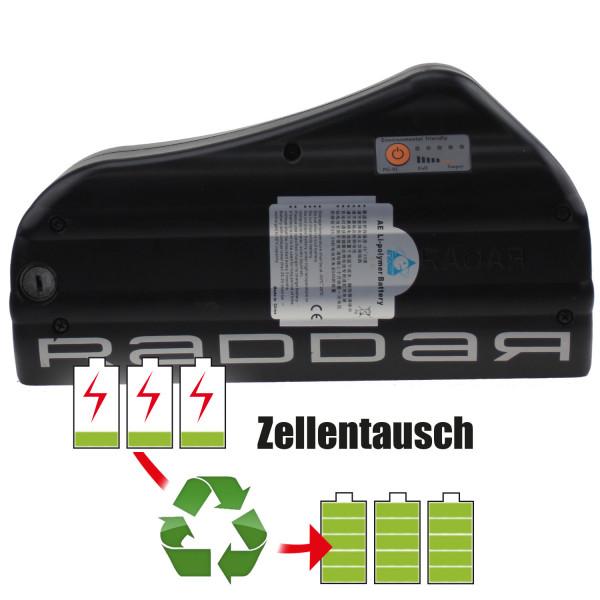 Akkureparatur - Zellentausch kompatibel für Storck Multitask Raddar E-Bike 25,2V von 11,6Ah / 292Wh bis 17,3Ah / 435Wh
