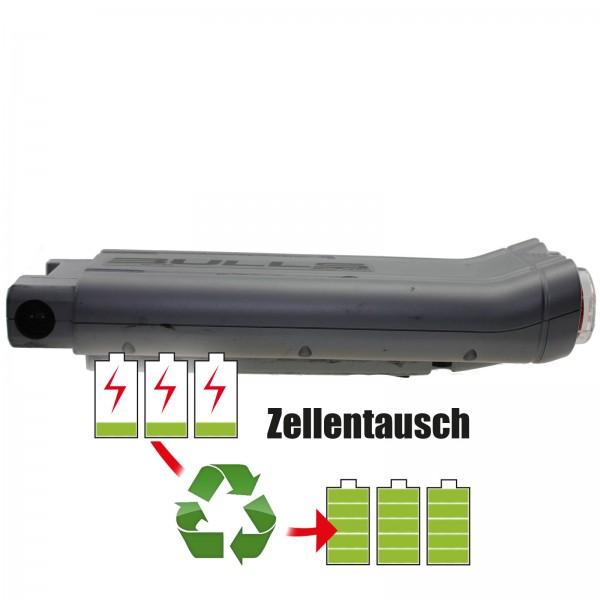 Akkureparatur - Zellentausch kompatibel für Bulls Green Mover E-Bike Akku 36V mit 13,8Ah/496,8Wh - Gepäckträger-Version