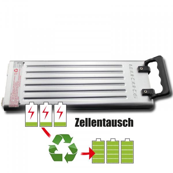 Akkureparatur - Zellentausch kompatibel für Schachner E-Bike 36,0V von 6,6Ah / 238Wh bis 9,6Ah / 346Wh