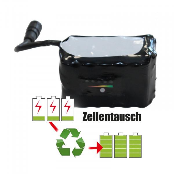 Akkureparatur - Zellentausch kompatibel für Vivax E-Bike 28,8V von 7,8Ah / 225Wh bis 10,4Ah / 298Wh