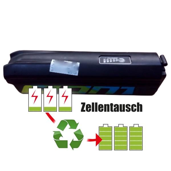Akkureparatur - Zellentausch kompatibel für Giant E-Bike 36,0V von 11,6Ah / 418Wh bis 13,8Ah / 497Wh