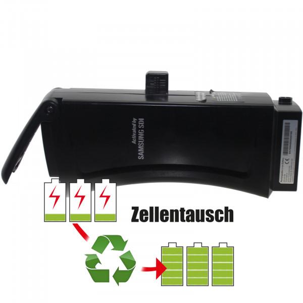 Akkureparatur - Zellentausch kompatibel für Samsund SDI E-Bike 25,0V von 10,4Ah / 260Wh bis 13,8Ah / 345Wh