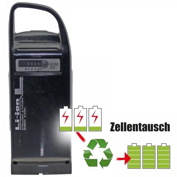 Akkureparatur - Zellentausch kompatibel für Yamaha / Gepida / Reptila / Haibike E-Bike Akku 25V von 10,4Ah/260Wh bis 13,8Ah/345Wh